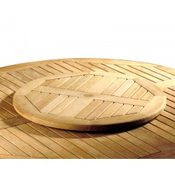 Wooden Lazy Susan, Extra-large – 0.8m