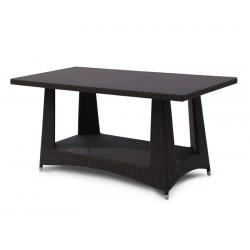 Riviera Rattan Rectangular Dining Table – 0.8 x 1.6m