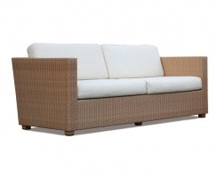 Riviera 4 Seater Rattan Garden Sofa U2013 2m