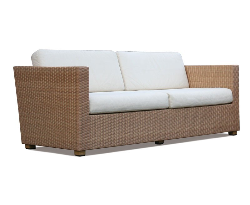 Riviera 4 Seater Rattan Garden Sofa – 2m