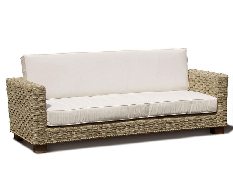 Awesome Our Seagrass Three Seater Sofa Features A Contemporary, Chunky Design With  Wide Armrests And A Sumptuous Cushion For The Ultimate Comfort.