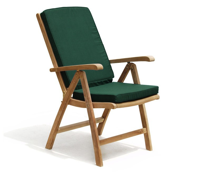 Cheltenham Outdoor Reclining Chair, Teak · Teak Garden Recliner · Teak  Patio Reclining Chair