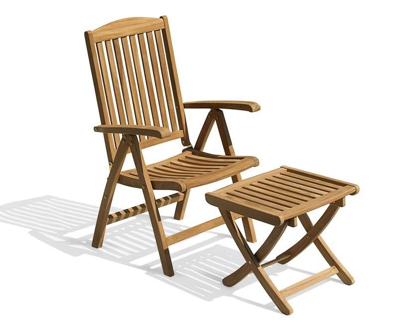 sc 1 st  Cyan teak furniture & Cheltenham Teak Reclining Armchair and Footstool islam-shia.org