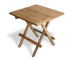 Ashdown Square Picnic Table - Teak Hardwood