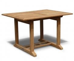 Hilgrove 4ft Rectangular Teak Outdoor Table – 1.2m
