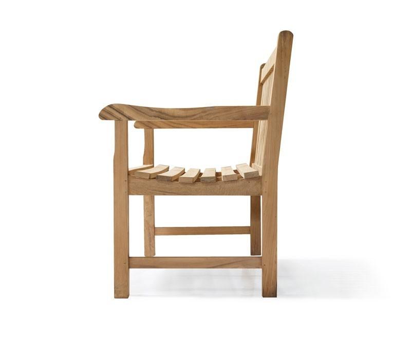 Windsor Teak Garden Bench Classic Outdoor Wood Bench Seat