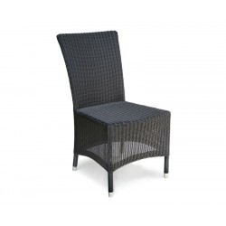 Riviera Rattan Garden Chair, Wicker Patio Chair, Loom weave