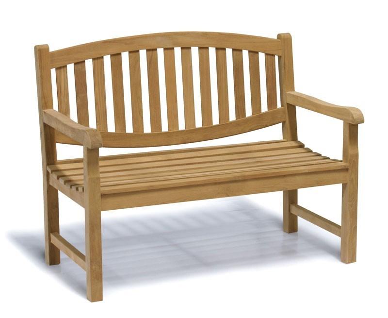 Ascot 2 Seater Teak Garden Bench