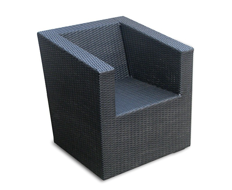 Eclipse Rattan Sofa Chair, Wicker Garden Chair