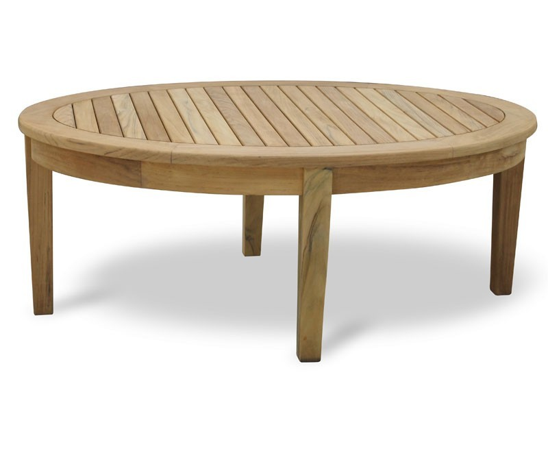 Teak Banana Coffee Table Set