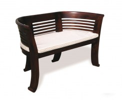 Kensington 2 Seater Tub Bench Cushion, Indoor Seat Cushion