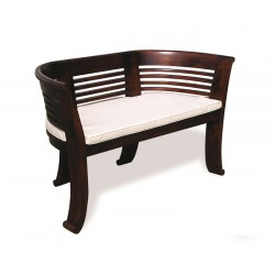 Kensington 2 Seater Bench Cushion, Indoor Bench Cushion