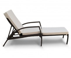 Monaco Sun Lounger Cushion, Garden Sun Bed Cushion