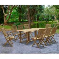 Shelley 8 Seater Garden Table and Chairs Set