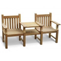 Taverners Vista Garden Love Seat, Jack and Jill Seat