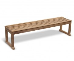 Westminster Teak Backless Bench 1.8m
