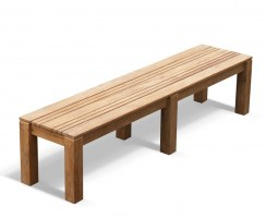 Chichester Teak Backless Bench – 2m