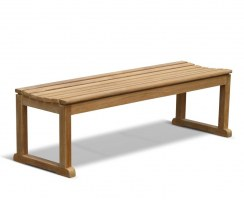 Westminster Teak Backless Bench 1.5m