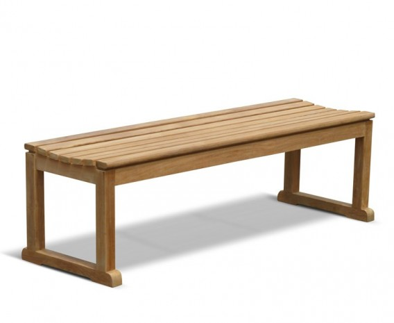 Westminster Teak Backless Garden Bench – 1.5m