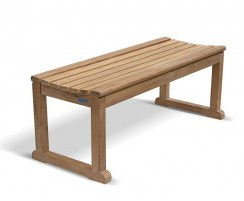 Westminster Teak Backless Bench 1.2m