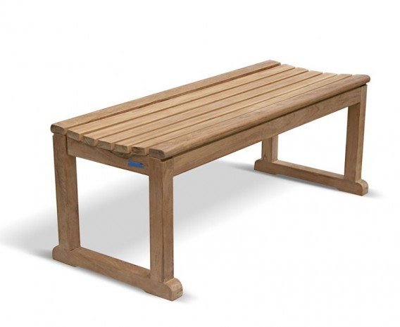 Westminster Teak Backless Garden Bench – 1.2m