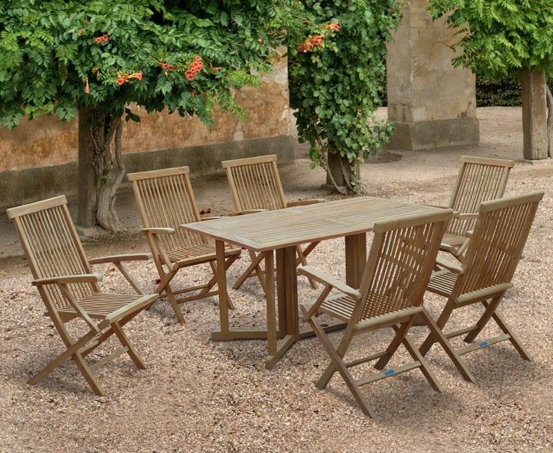 Shelley garden gateleg table and chairs set - Gateleg table with chairs ...