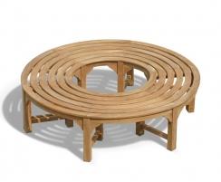 Teak Circular Tree Seat - 160cm