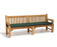 2.4m Outdoor Park Bench Cushion to fit Balmoral, Taverners, Tribute