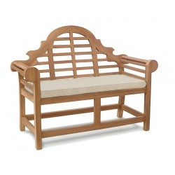 teak lutyens bench cushion
