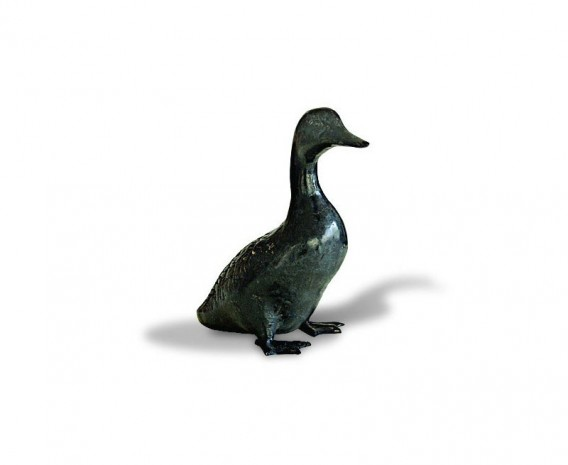 Duckling Brass Ornament