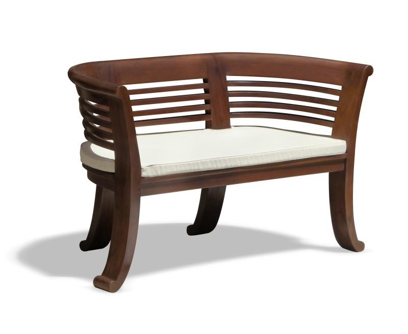 Kensington 2 Seater Teak Indoor Bench 1 31m