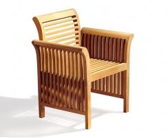 Aero Teak Garden Armchair