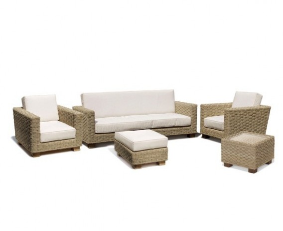 Water Hyacinth Conservatory 5-piece Sofa Set