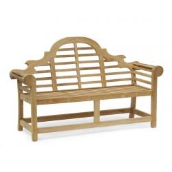 Lutyens Bench, Teak – 1.65m