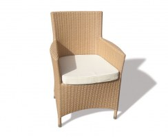 Riviera Flat Weave 2 Seat Dining Set Chair