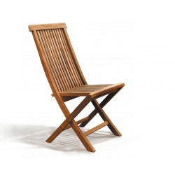 Brompton Bijou Extending 1.2 - 1.8m Table & 6 Ashdown Folding Chairs