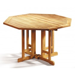 Berrington Octagonal Gateleg 1.2m Table with 4 Bali Recliners