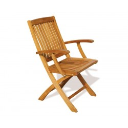 Bali Teak Folding Chair