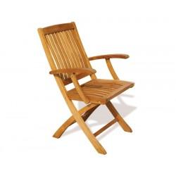 Bali Teak Folding Chair
