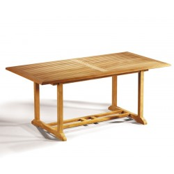Hilgrove 6ft Teak Rectangular Outdoor Table – 1.8m