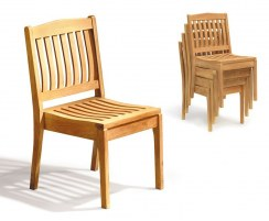 Hilgrove Teak Stacking Chairs