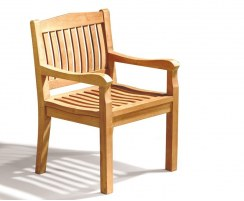 Hilgrove Teak Dining Chair with arms
