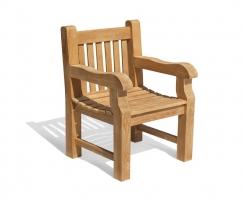 Balmoral Heavy-Duty Teak Garden Armchair