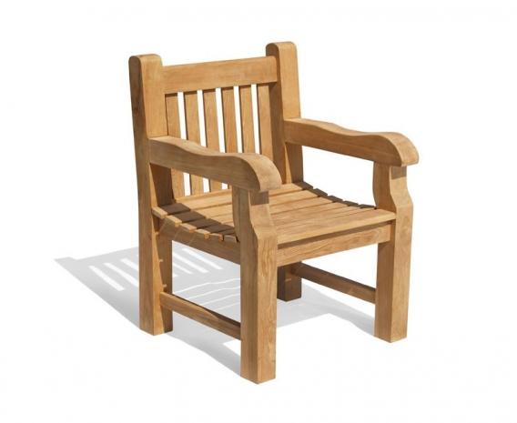 Balmoral Teak Hardwood Garden Armchair