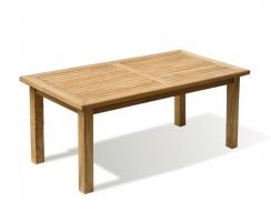 Balmoral Teak 6ft Large Rectangular Garden Table – 1.8m