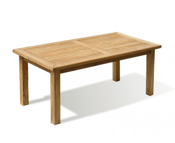 Balmoral Teak 6ft Large Rectangular Garden Table – 1.8m