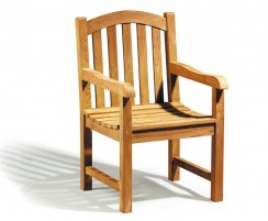 Clivedon Teak Dining Chair with arms