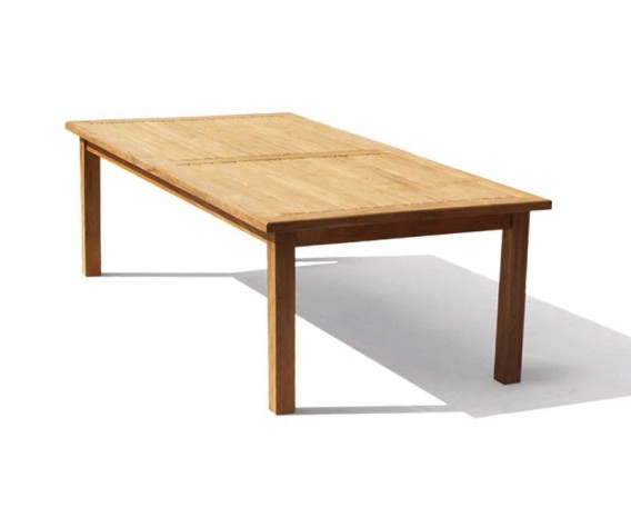 Balmoral Teak Rectangular Garden Table – 2.5m