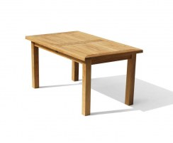 Balmoral Rectangular Teak Patio Dining Table – 1.5m