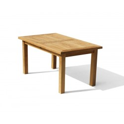 Balmoral Teak 5ft Large Rectangular Garden Table – 1.5m